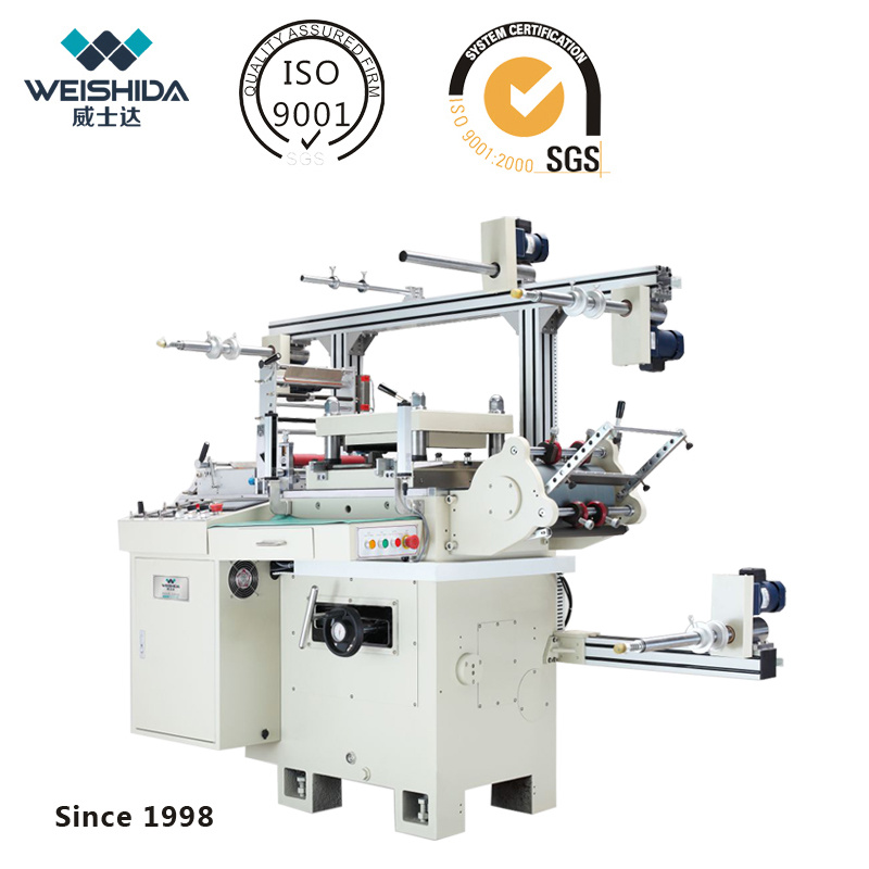 New CNC Double-Servo Automatic Die Cutting Machine for Various Materials