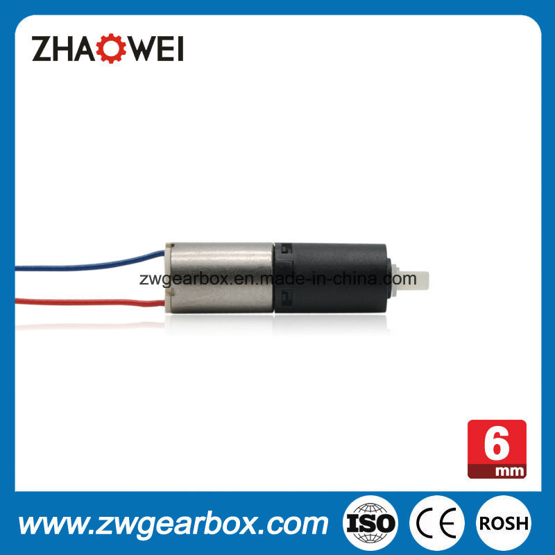 Ratio 136: 1 6mm Plastic Reducer Gearbox