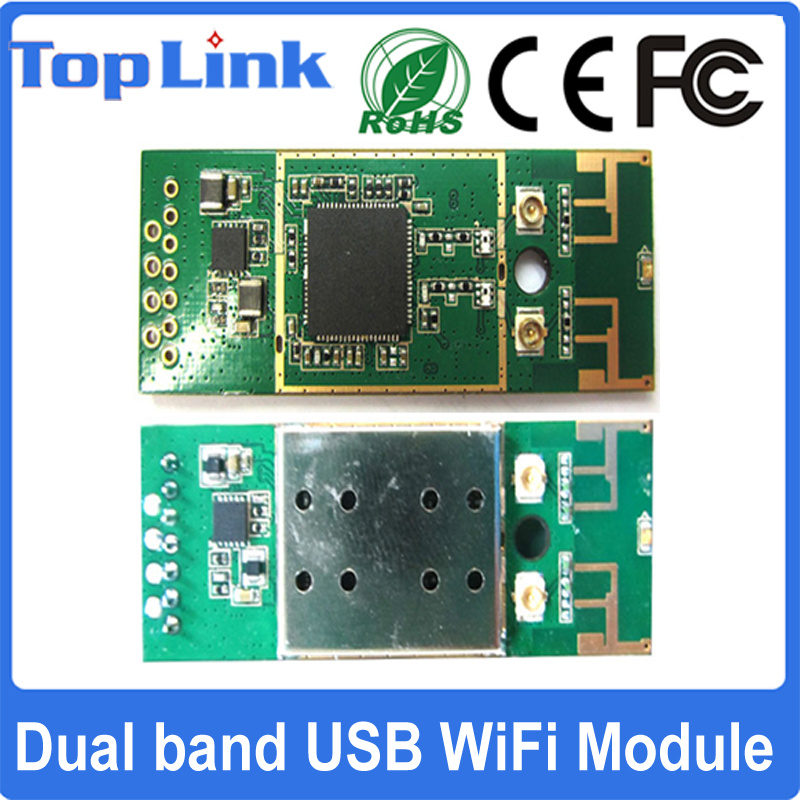 802.11A/B/G/N 2t2r Rt5572 Wi-Fi USB Embedded Wireless Dual Band 300Mbps Module