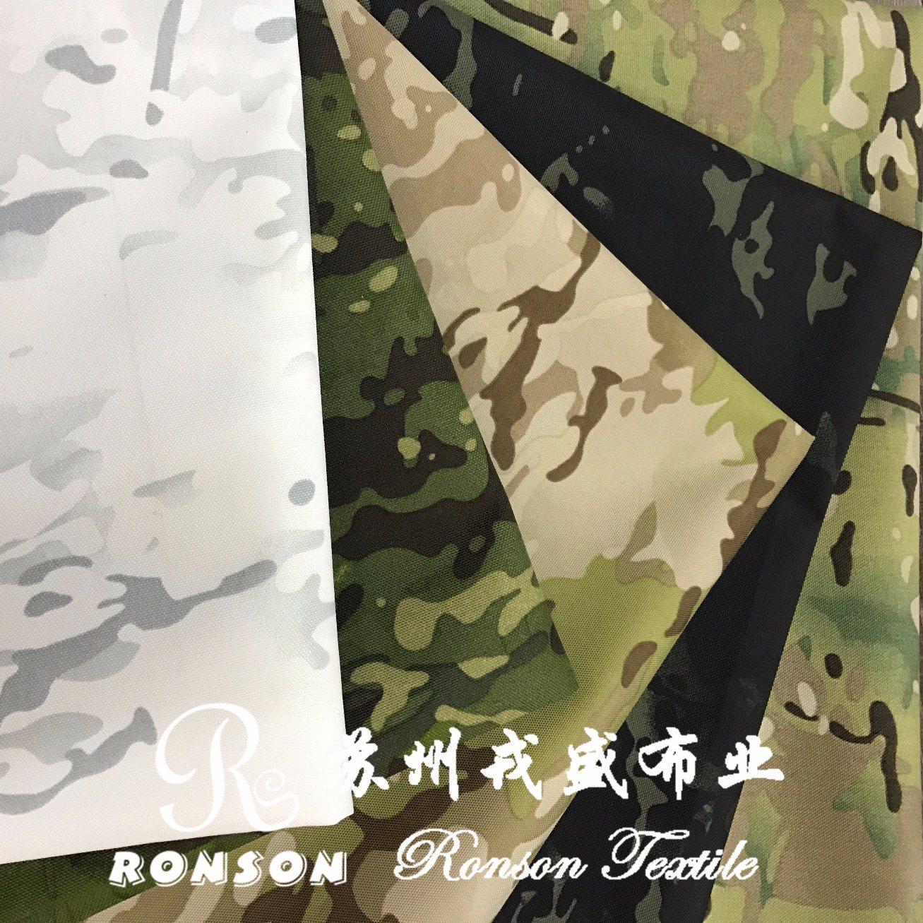 Multicam Alpine, White Snow Cp Camouflage, Polyester Cordura Fabric