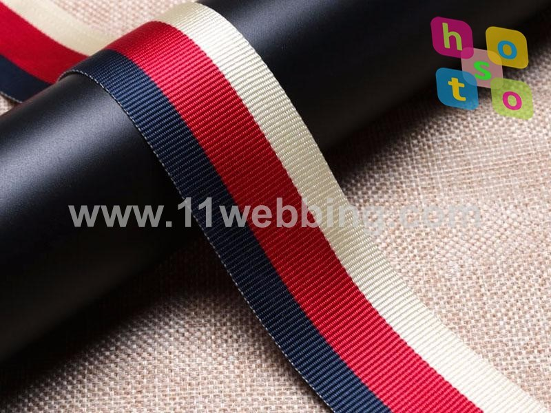 Fake Nylon Polyester Webbing for Garments and Bags Accessories