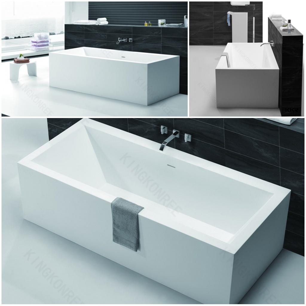 Egg Shaped Marble Stone Freestanding Hot Bath Tub (BT170511)