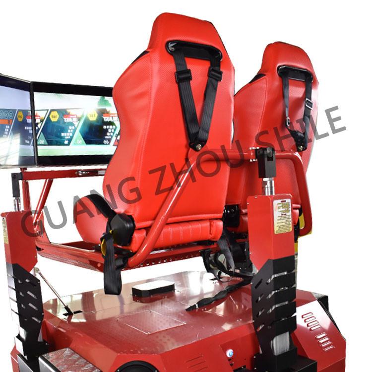 Three Screen 3D 4D 5D 7D 9d Car Driving Simulator with Car Game