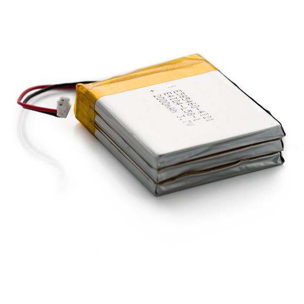 585060*3 6000mAh 3.7V Li-Po Battery with Jst 2.0 Plug for GPS MP5 Car DVR Smart Devices