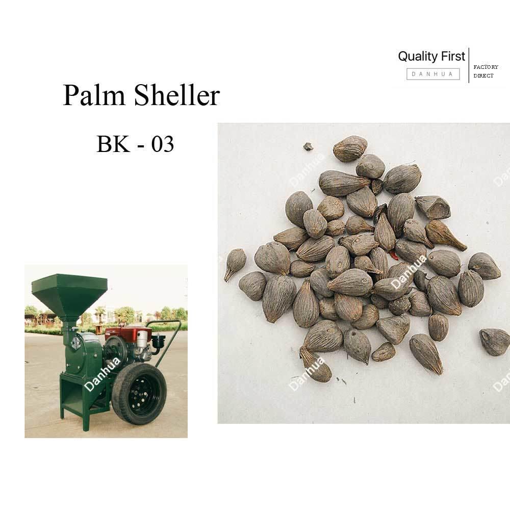 Palm / Walnut Kernel Shelling / Breaking Machine