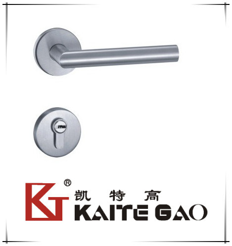 (SA-301) 304 Stainless Steel Satin Finish Level Handle with Lock