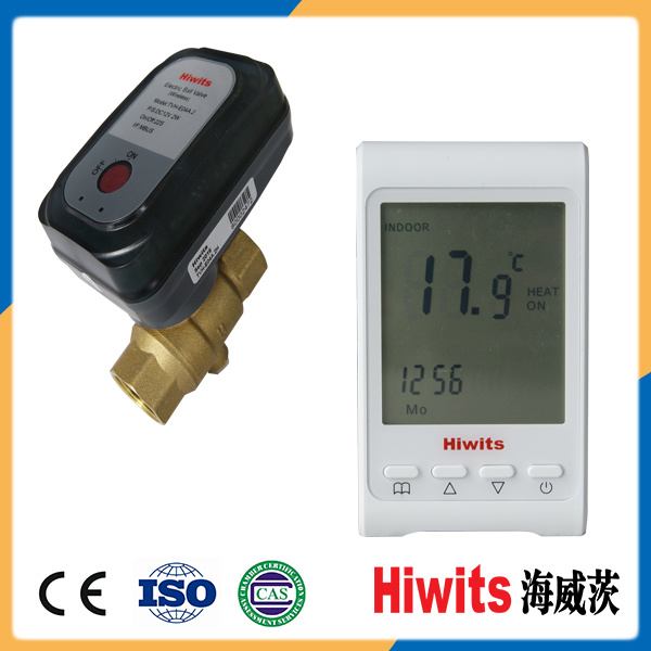 """Hiwits Brass 1/2""""-4"""" Two-Way Gate Valve Electric Actuator"""