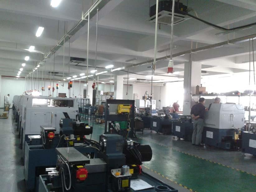 High Precision CNC Machine Lathe with Japanese Fanuc Control System
