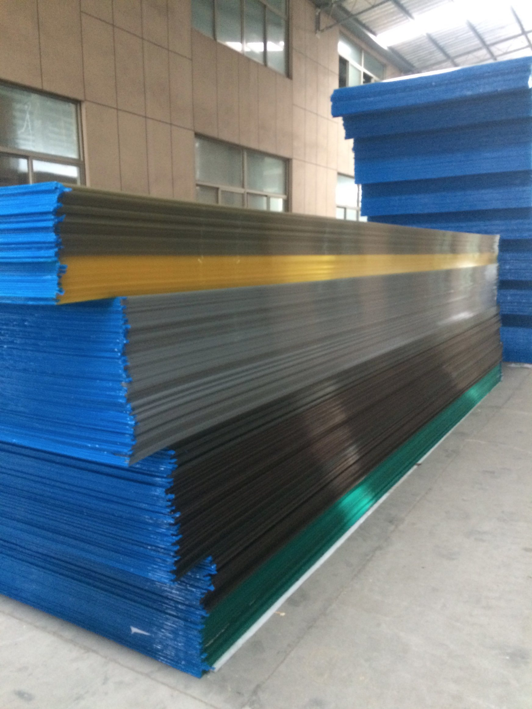 Bronze Color Polycarbonate Sheet