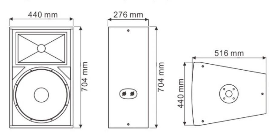 15′′ Ex15 Speaker System PRO Speaker - Tact