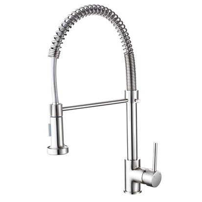 Flg Brushed Nickel Pull out Kitchen Faucet/Tap/Mixer