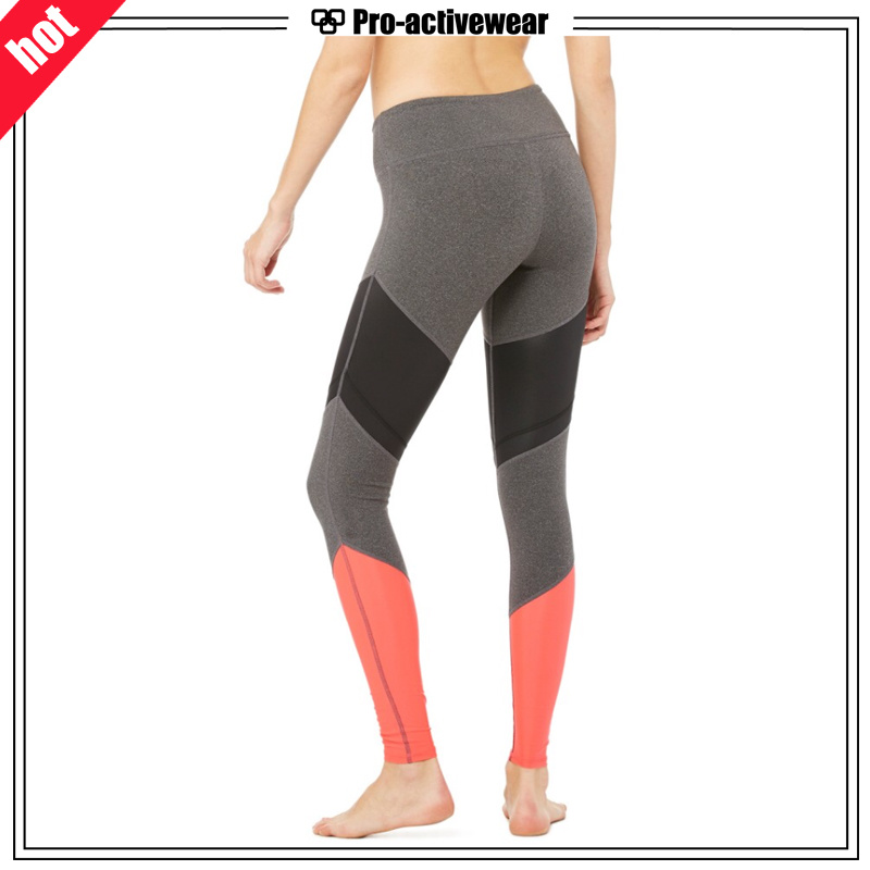 Whoelsale Quick Dry Fashion Women Mesh Yoga Pants Leggings