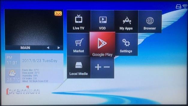 Ipremium IPTV Box Dual OS Mickyhop and Android 6.0 Box Ott IPTV
