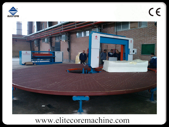 Automatic Carrousel Circular Foam Cutting Machinery