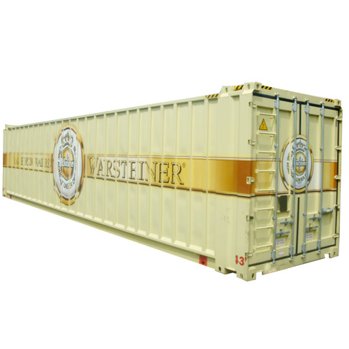 45′ Stainless-Steel-Container