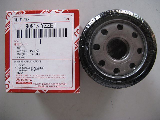 Fuel consumption of New Toyota Corolla XLI? - 90915 Yzze1 Filter Use for Toyota