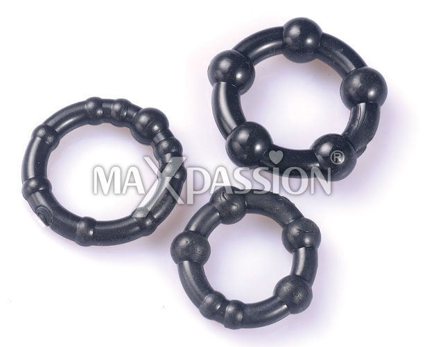 Adult Toys for Men - Power Beads Cock Rings