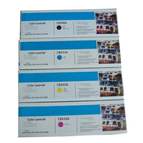 Laser Cartridge for HP CB540A, CB541A, CB542A, CB543A (Color LaserJet 1215)