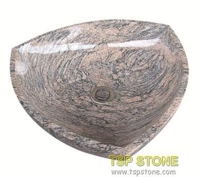 Granite Vessel Sink for Bathroom
