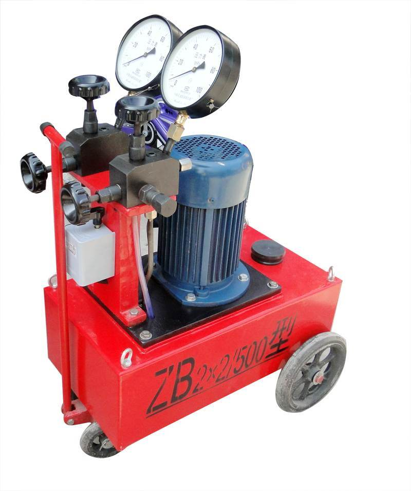 High-Pressure Electric Hydraulic Pump (ZB2*1.5/63)
