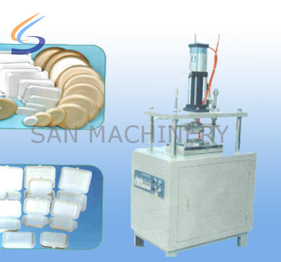 Semi-Automatic Paper Plate and Paper Meal Box Making Machine