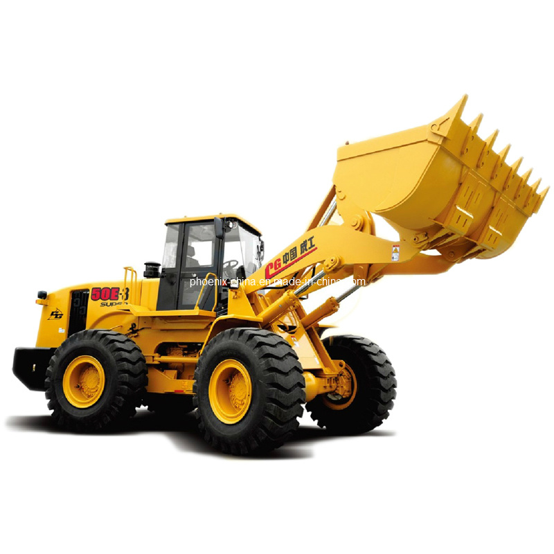 Chenggong Wheel Loader 5tons Zl50e-3 Super with 3m3 Bucket