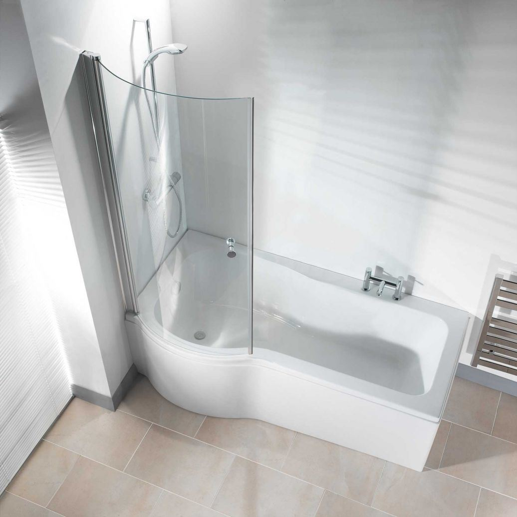 China Curved Tempered Glass For Bathroom Shower Room