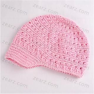 Croshay Design Crochet Patterns : Croshay Design B Brim Beanie Hat Crochet Pattern (Other Files)