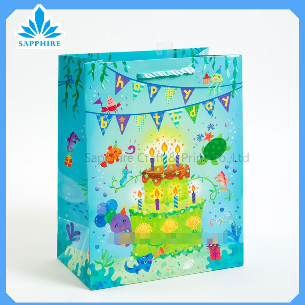 Gift Paper Bag, Paper Shopping Bag for Promotion