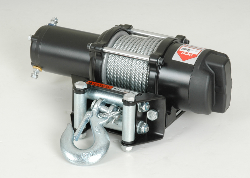 TV Electric Winch with 3000lb Pulling Capacity (New Developed)