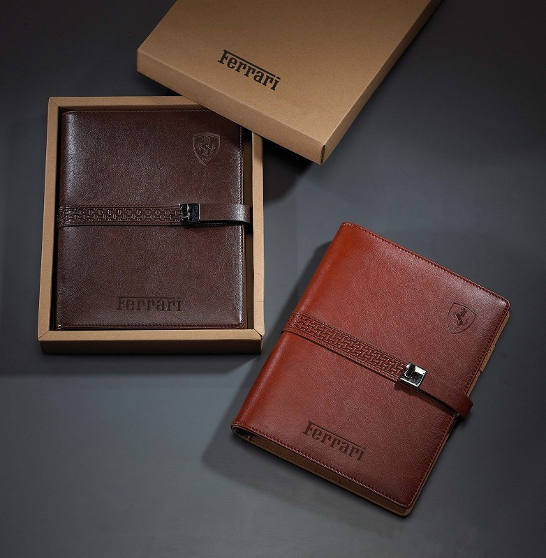 Leather Diary Cheap Price with Gift Box 2015 Year