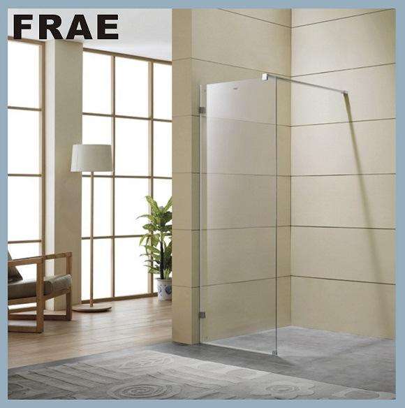 Tempered Glass Walk-in Shower Screen Bathroom Shower Box Glass Door Panel