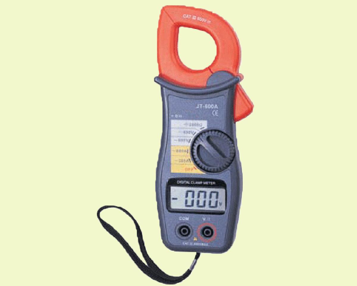 Digital Clamp Meter : Clamp meter parts