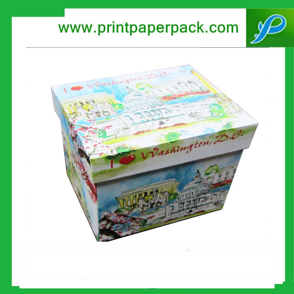 Custom Printed Premium Cardboard Paper Jewelry Box