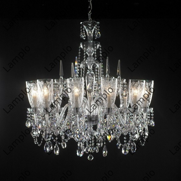 Broadway Linear Crystal Chandelier by James R. Moder at Lumens.com