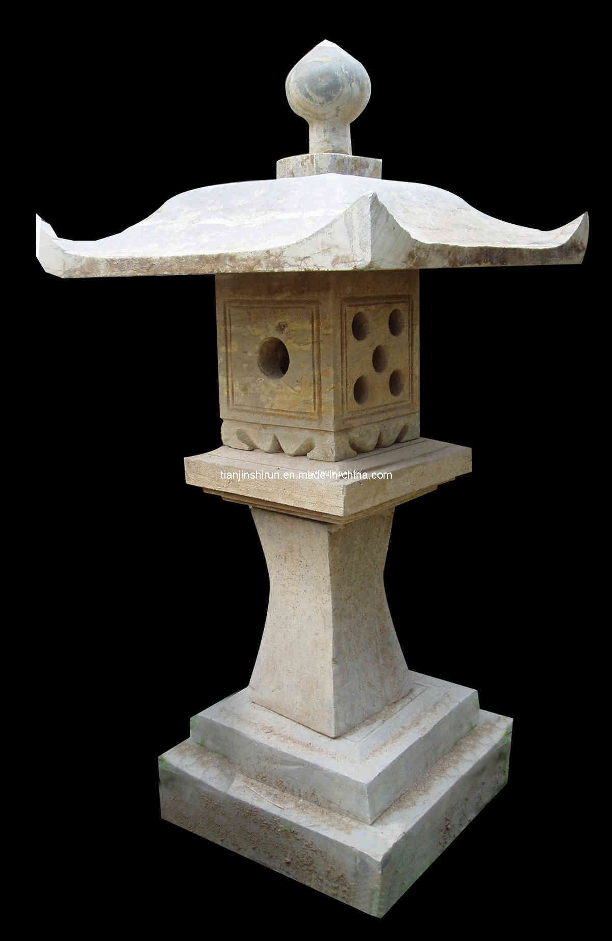 Old Stone Lantern Lt 4 Photos Pictures