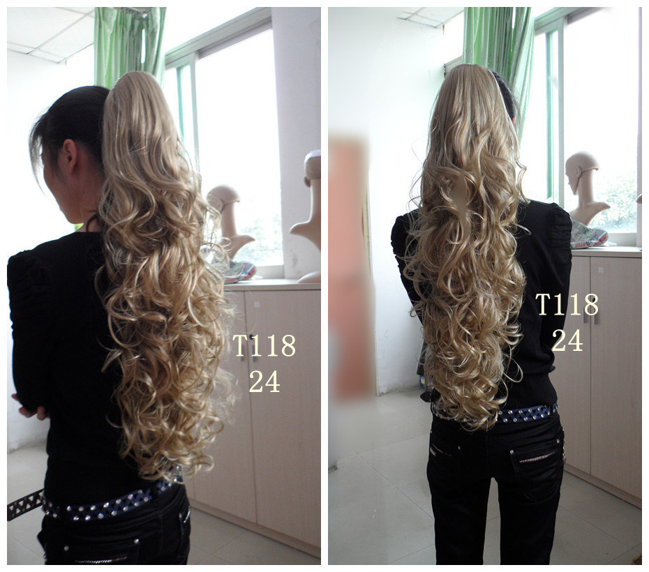 Hair Extension Curly Ponytail 115