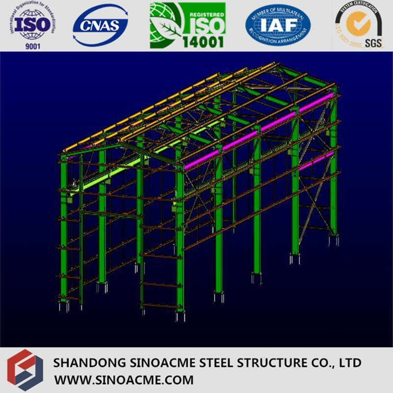 High Rise Light Steel Frame Warehouse