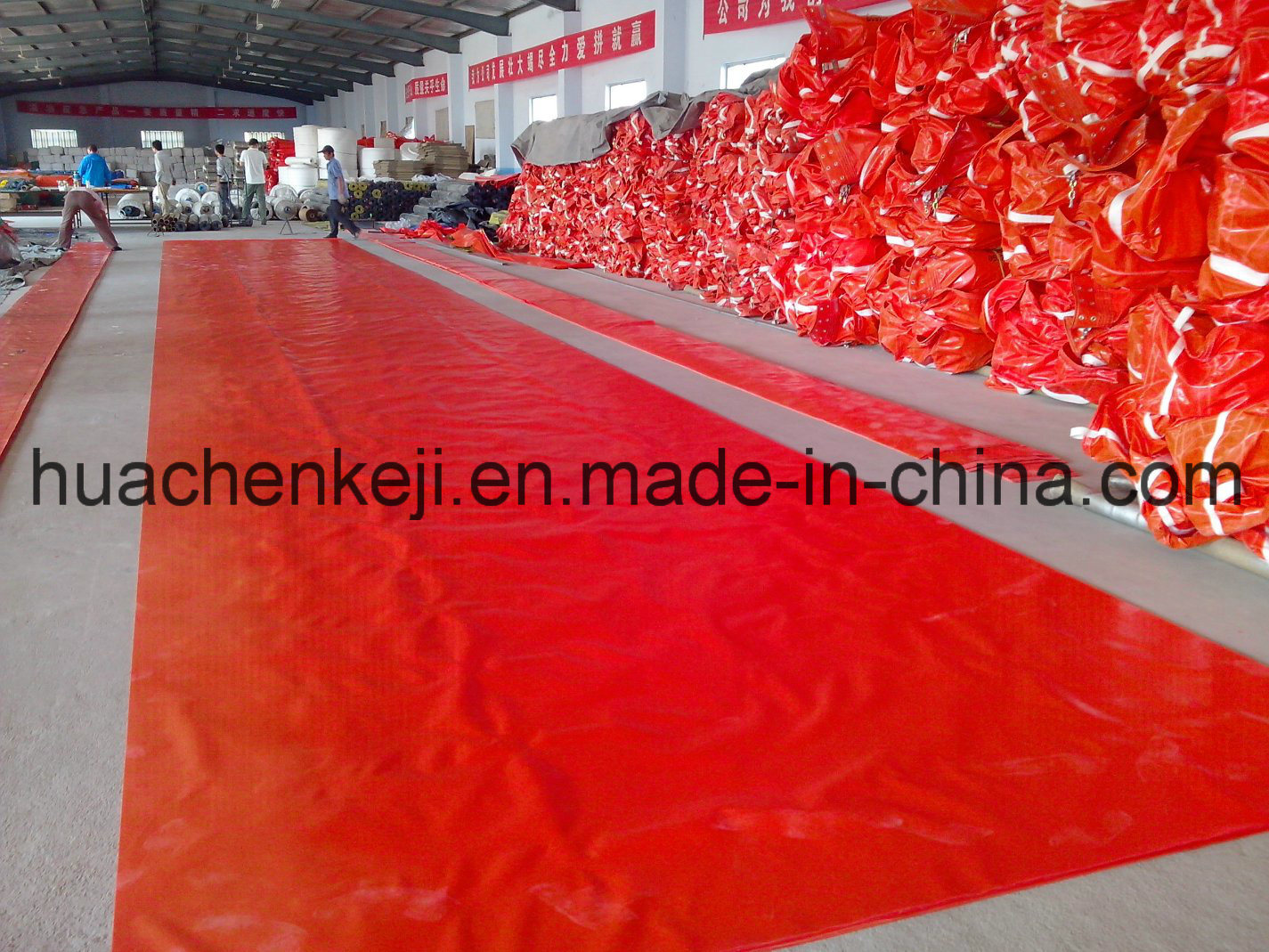 Environmental Protection Equipment PVC Oil Boom/Fence