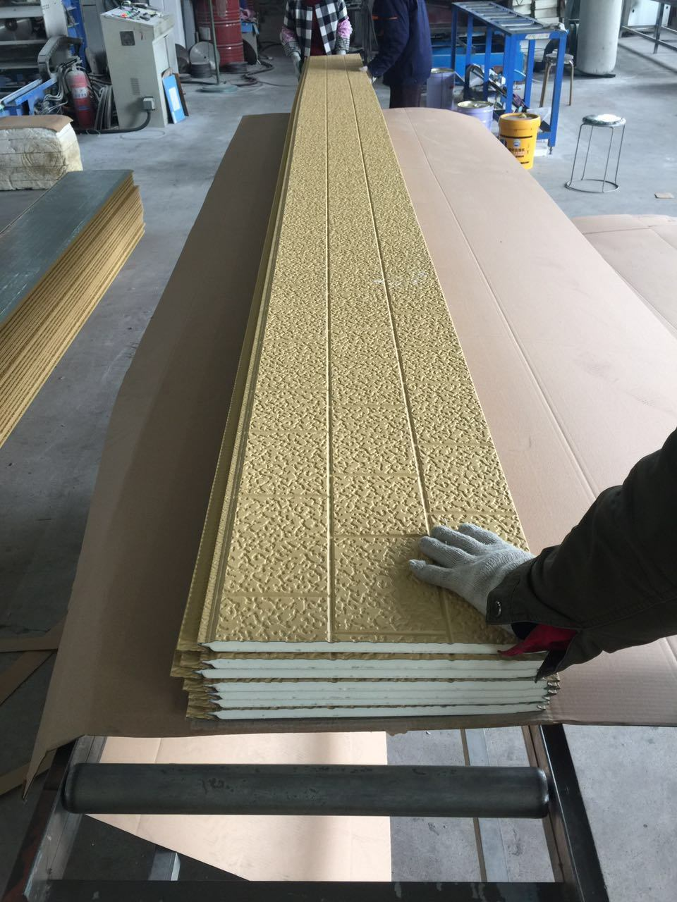 Facade Decorative Wall Panel 16mm Thickness