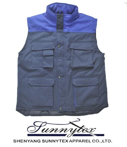 Hot Selling Mens Multipocket Safari Vest