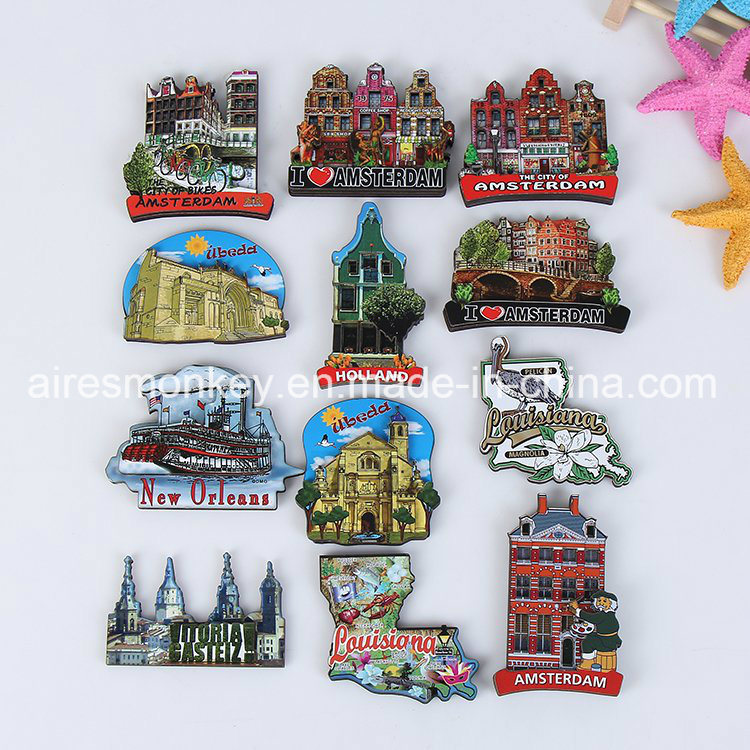 3D Promotional Wooden Magnets in Various Shape