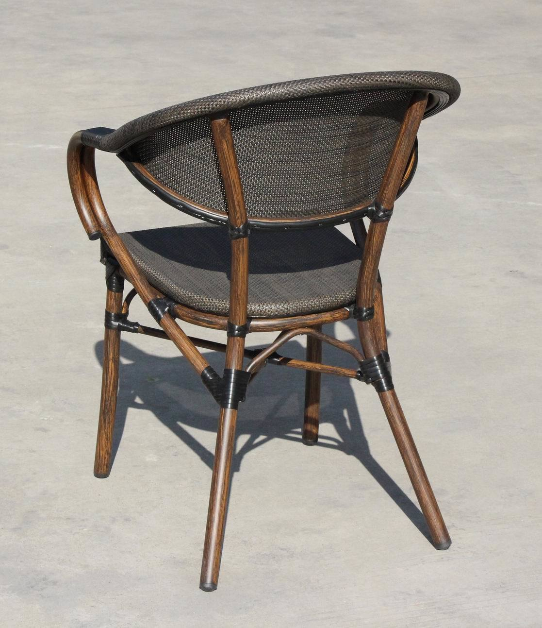 Alu. Bamboo Textylene Starbucks Outdoor Chair