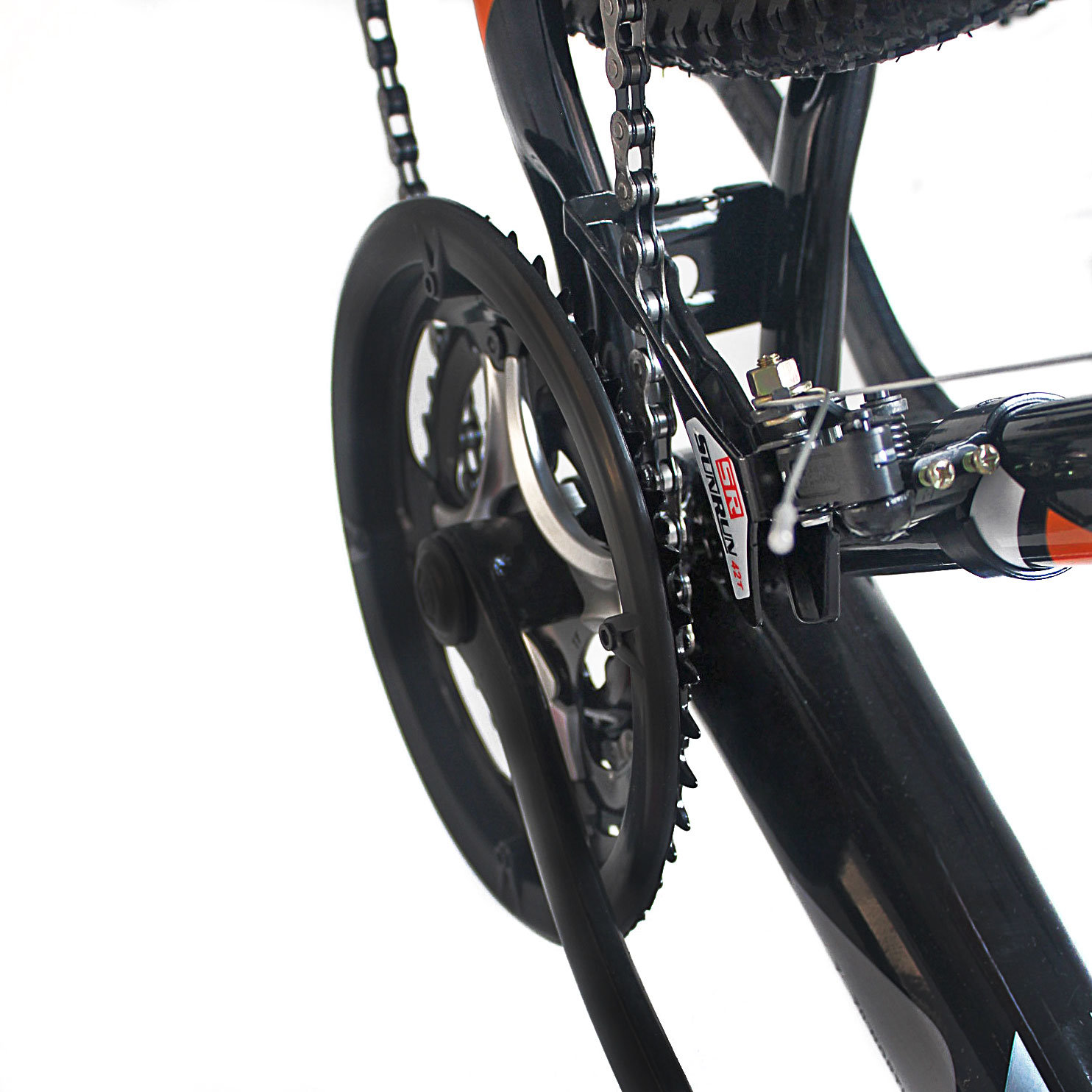 21 Speed Carbon Steel Adult Mountain Bike (MTB-017)