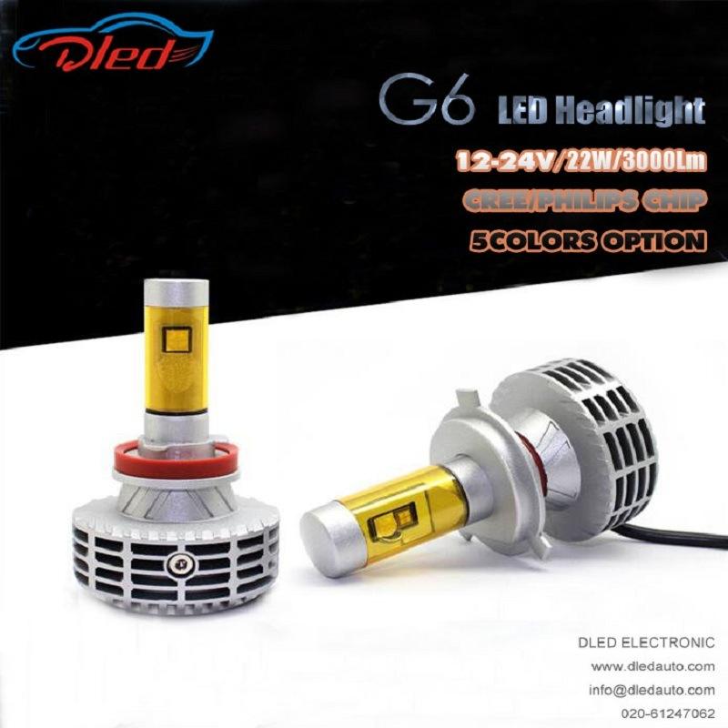 H11 G6 Super Power LED Headlight Philips/CREE Auto LED Fog Lighting
