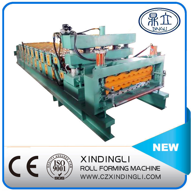 Double Glazing Roof/Wall Panel Roll Forming Machinery
