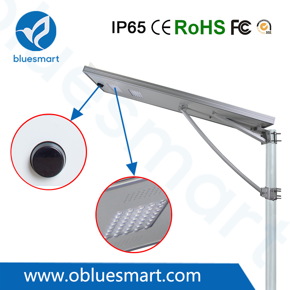 Bluesmart 80W Solar Products Garden Light LED Street Lamp with Solar Panel