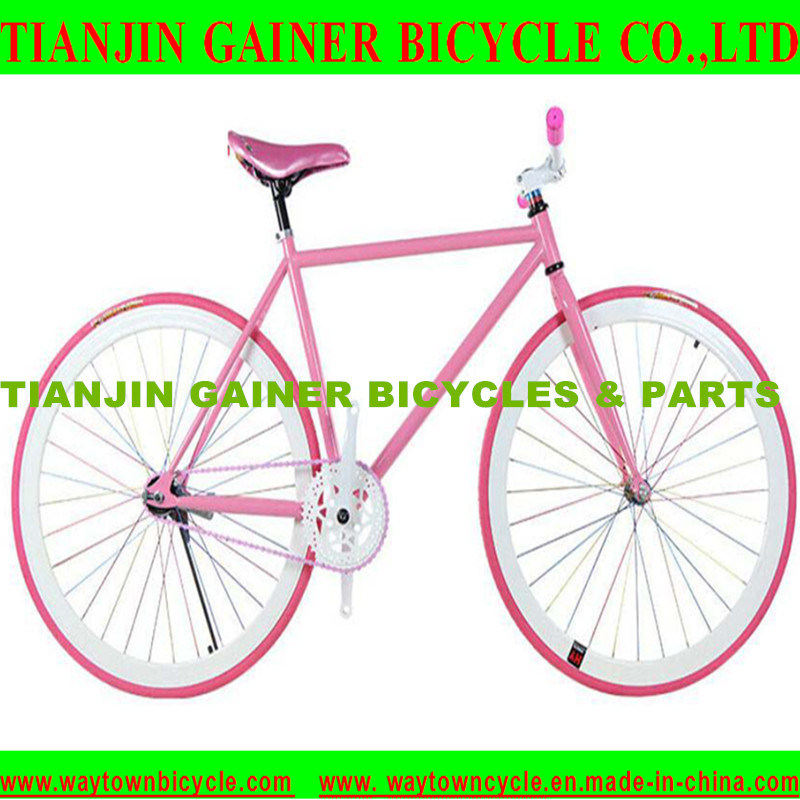 Tianjin 700c Road Bicycle Equipped Fixed Gear 18t