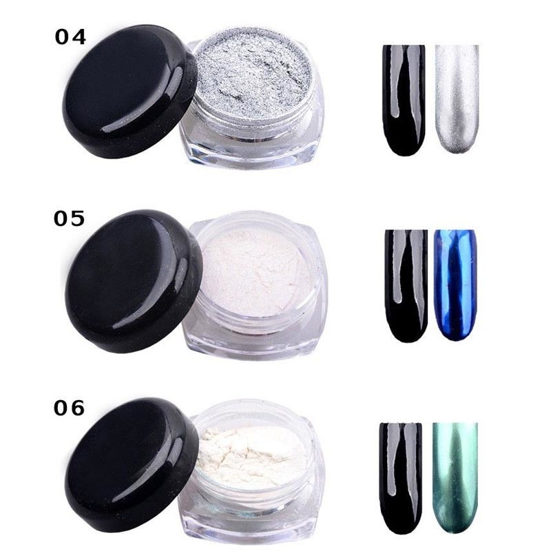 2016 New 3G DIY Metal Shinning Chrome Mirror Powder