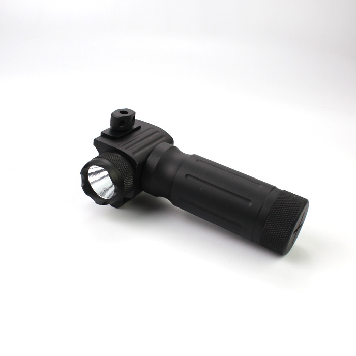 Tactical Handgrip 750 Lumens LED Flashlight with Red Laser